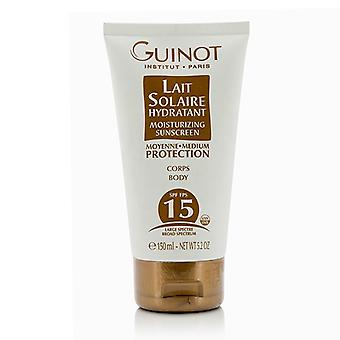 Guinot Lait Solaire Hydratant Moisturizing Sunscreen For Body SPF15 150ml/5.2oz