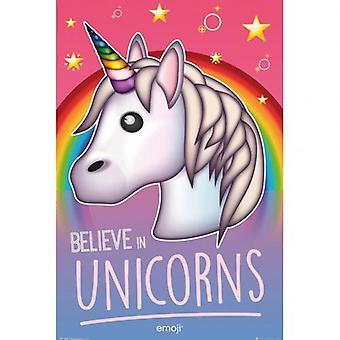 Emoji Poster Unicorn 206