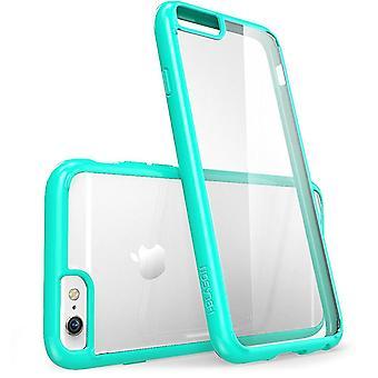 Apple iPhone 6 / 6S Plus 5,5 fall - i-Blason, Halo skrapa resistenta fall-klar/grön