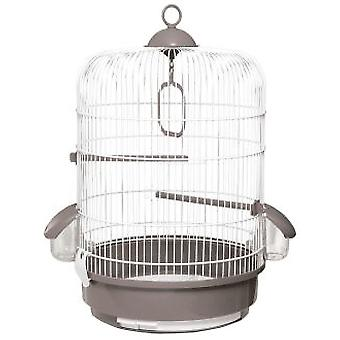 Voltrega White Grey Bird Cage 32,5 x 48 Cm 736 (Birds , Cages and aviaries , Cages)