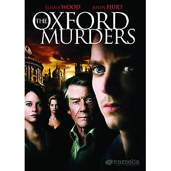 Oxford mord [DVD] USA importerer