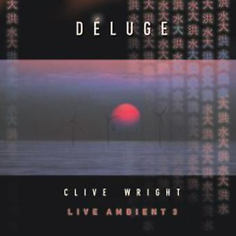 Clive Wright - Live omgivende 3: Syndflod [CD] USA import