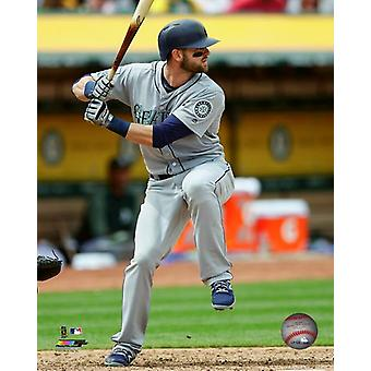 Mitch Haniger 2017 Action Photo Print