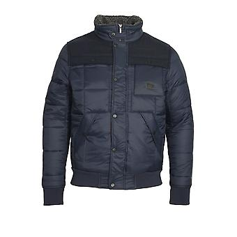 VOI JEANS Ignite Quilted Jacket | Black Iris
