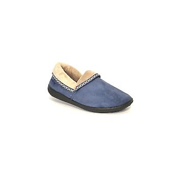 Padders Womens Slipper Mellow Blue