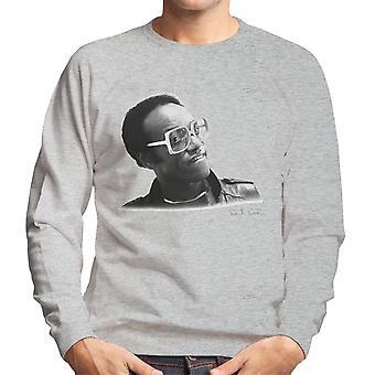 Bobby Womack London 1982 Herren Sweatshirt