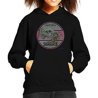Haynes Landrover genehmigt Service Kinder Sweatshirt mit Kapuze
