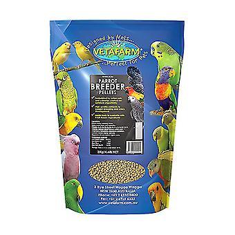 Parrot Pellet Breeder Diet 10kg Vetafarm