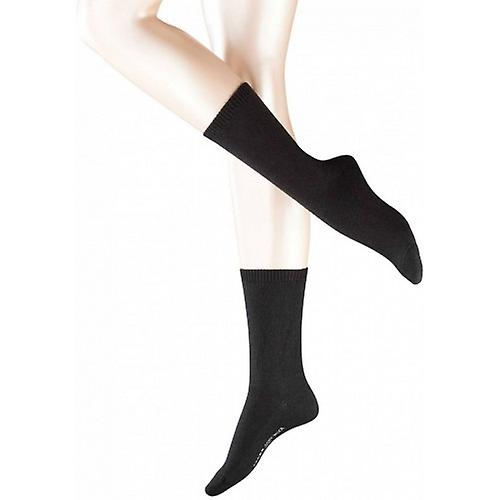 Falke Cosy Wool Socks - Black
