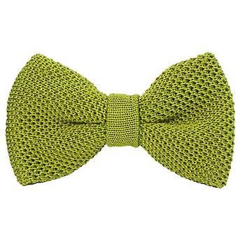 40 Colori Solid pre-bundet silke Butterfly - Avacado