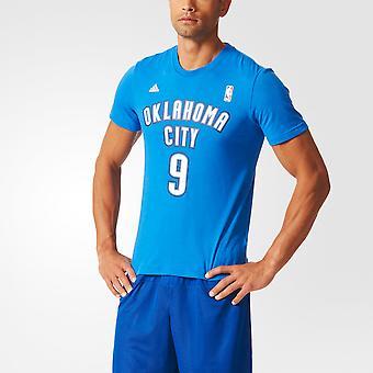 ADIDAS NBA Basketball Oklahoma City #9 Gametime Tee