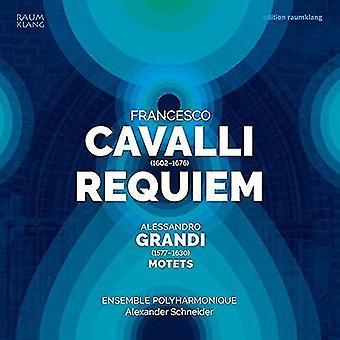 Cavalli / Ensemble Polyharmonique / Schneider - Requiem [CD] USA import