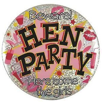 Large Hen Party Badge: Make a Big Statement and Transform Your Ladies' Night Out