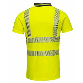 Portwest - Ladies Hi-Vis Pro Safety Workwear Polo Shirt