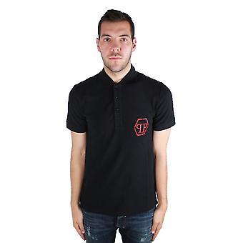 Philipp Plein Dark MTK0057 02R5 Polo Shirt