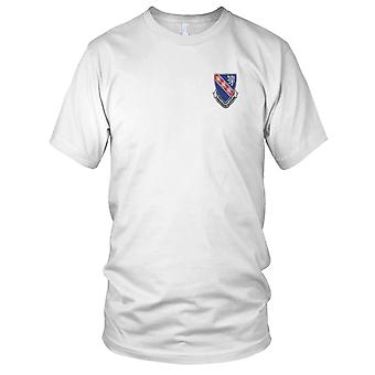 US Army - 147th Armored Regiment Embroidered Patch - Ladies T Shirt