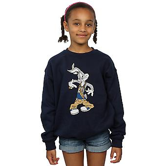 Looney Tunes Girls Bugs Bunny Rapper Sweatshirt