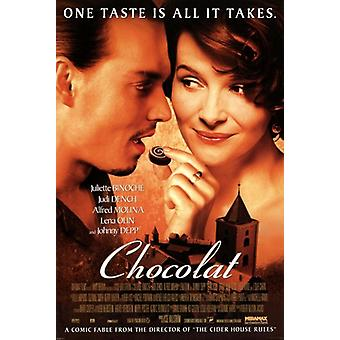 Chocolat - Movie Poster Poster Print