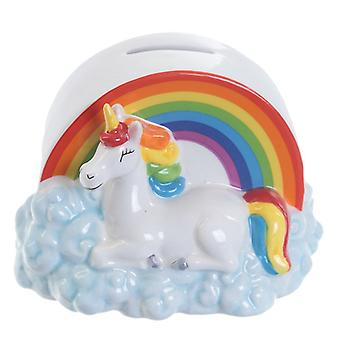 Enchanted Rainbows Unicorn Money Box