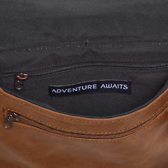Frontier animal Cross Body Bag - noir