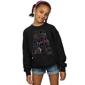 Star Wars Girls Come To The Dark Side Sweatshirt