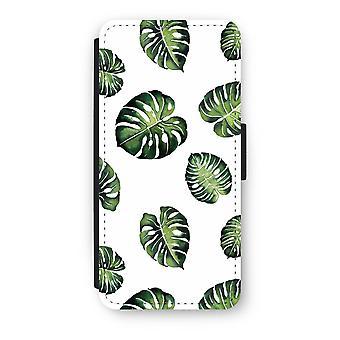 iPhone 5/5 s/SE フリップ ケース - 熱帯の葉します。