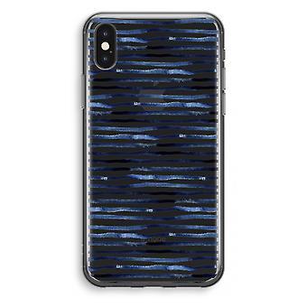 iPhone X Transparant Case - Surprising lines