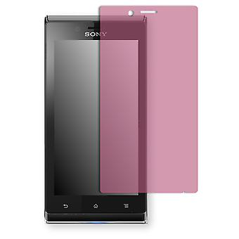 Sony Xperia J screen protector - Golebo view protective film protective film