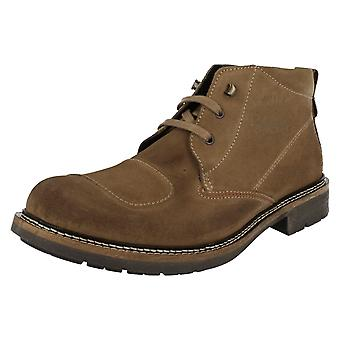 Mens Base London Casual Ankle Boots Stroke