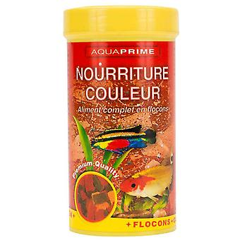 Aquaprime Coloured Feed For Exotic Fish 250Ml Aquaprime (Peces , Comida , Agua caliente)