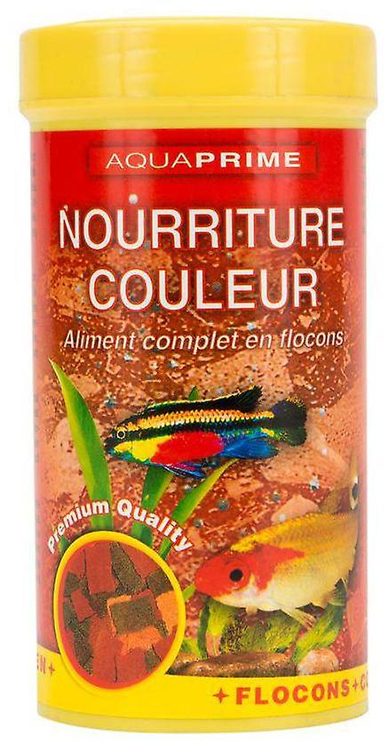 Aquaprime Coloured Feed For Exotic Fish 250Ml Aquaprime (Fish , Food , Warm Water)