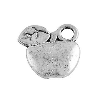 Packet 20 x Antique Silver Tibetan 10mm Apple Charm/Pendant HA08325