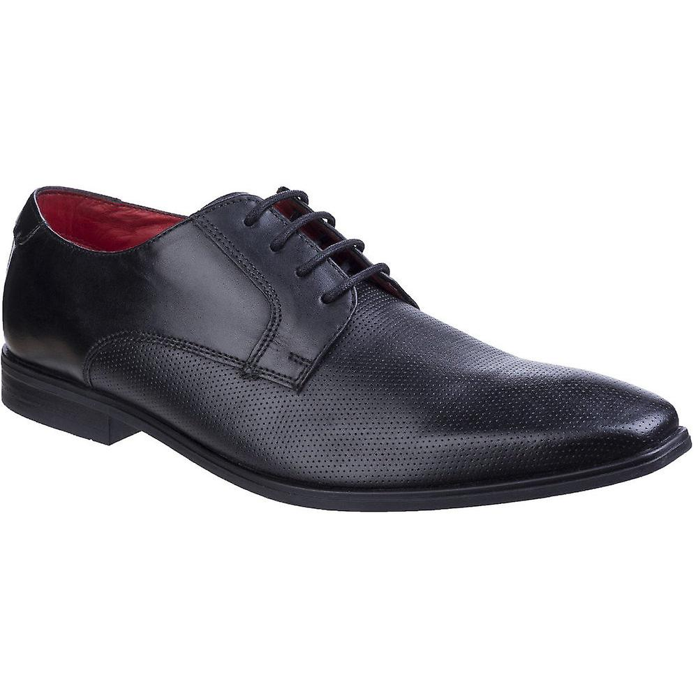 Base London Mens Charles Waxy Leather Smart Casual Derby chaussures