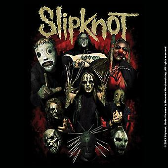 Slipknot Coaster Come Play Dying band logo Official 9.5cm x 9.5cm single cork