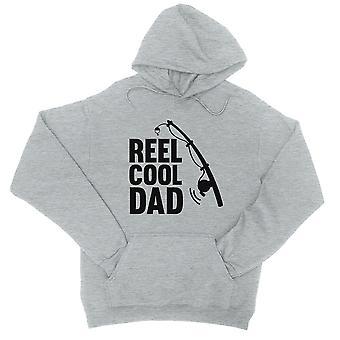 Haspel Cool Papa Unisex grau Fleece Hoodie