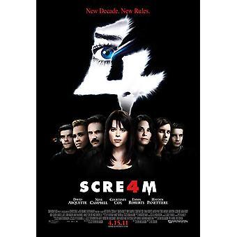 Scream 4 Movie Poster (11 x 17)