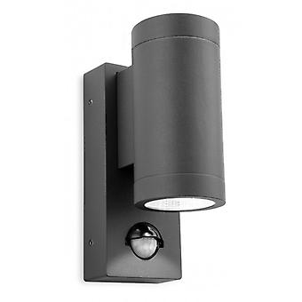 Shelby 2 Light Wall With Pir