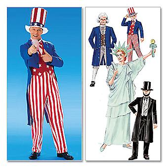 Adults'/Boys'/Girls' Costumes-Adults' (MED) -*SEWING PATTERN*