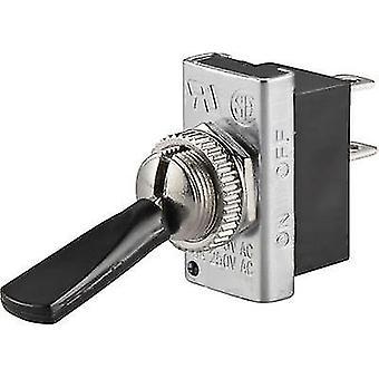SCI R13-25A1-05 Toggle switch 250 V AC 6 A 1 x Off/On latch 1 pc(s)