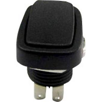 SCI Toggle switch R13-213B-03 250 V AC 3 A 2 x On/On latch 1 pc(s)