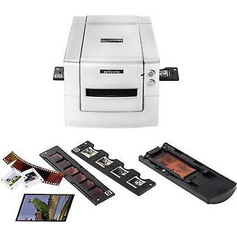 MF 5000 Reflecta Diascanner, negativ Scanner, Bildscanner 3200 dpi Staub und Kratzerentfernung: Hardware Mittelformat (Film)