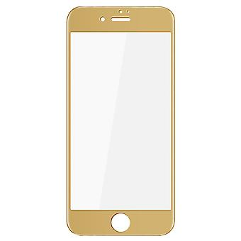 Apple iPhone 7 plus 3D armoured glass film screen protector covers case gold