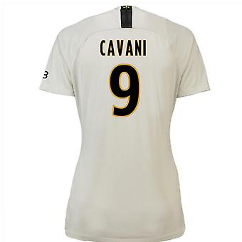 2018-19 Psg bort Womens skjorta (Cavani 9)