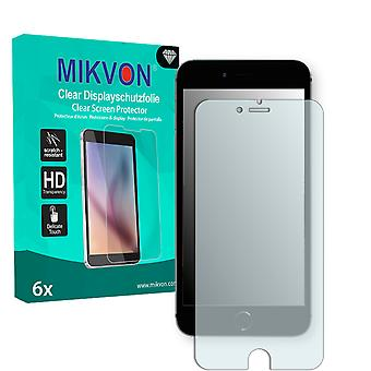 Apple iPhone 7 Plus Screen Protector - Mikvon Clear (Retail Package with accessories) (intentionally smaller than the display due to its curved surface)