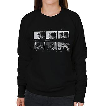 TV Times Beatles Lennon McCartney Photo Strip Women's Sweatshirt