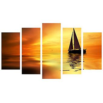Wellindal Relax Pyramid 5 Pieces Canvas Hpp007-87 Boat-