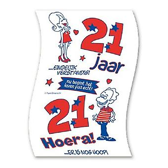Toiletpapier 21jaar nr04