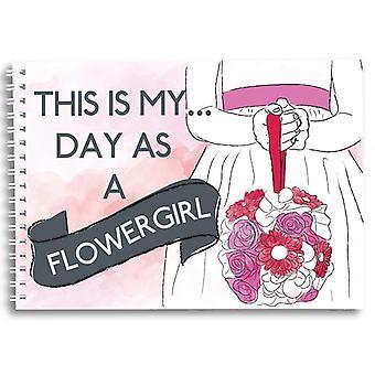 2 Little Boys Flowergirl Memory Book Photo Album