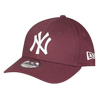New era 9Forty kids Cap - New York Yankees maroon