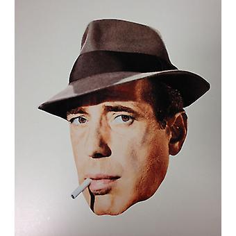 Humphrey Bogart Card Face Mask